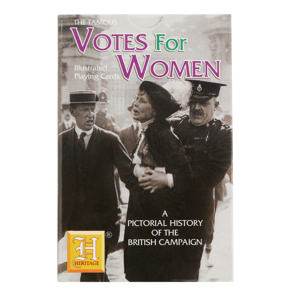 Suffragette Illustrated Playing Cards featured image