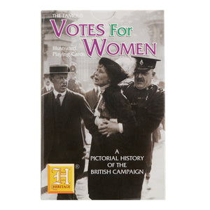 Suffragette Illustrated Playing Cards