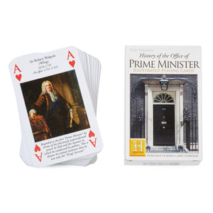 Prime Minister Illustrated Playing Cards