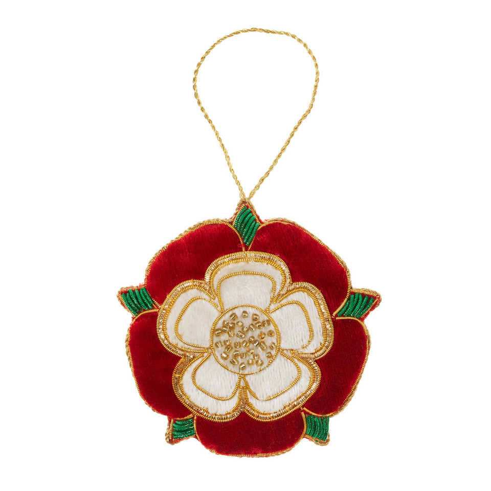 Tudor Rose Tree Ornament featured image