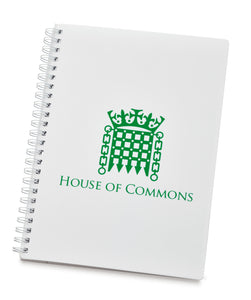 A5 Houses of Parliament Portcullis Notebook
