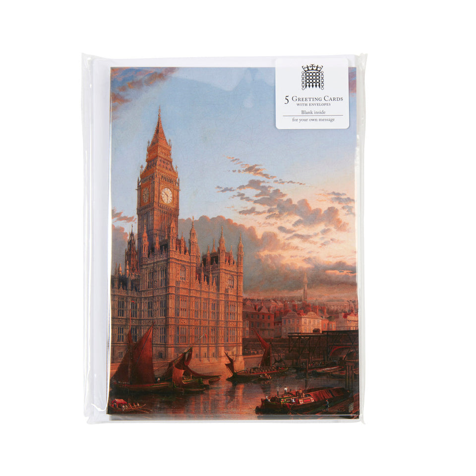 Westminster Bridge Greeting Cards featured image