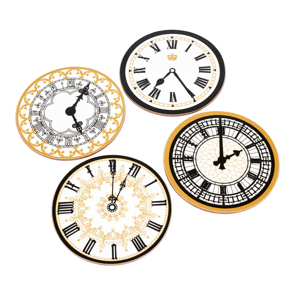Clock Face Coaster Set featured image