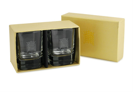 Set of Portcullis Dram Glasses
