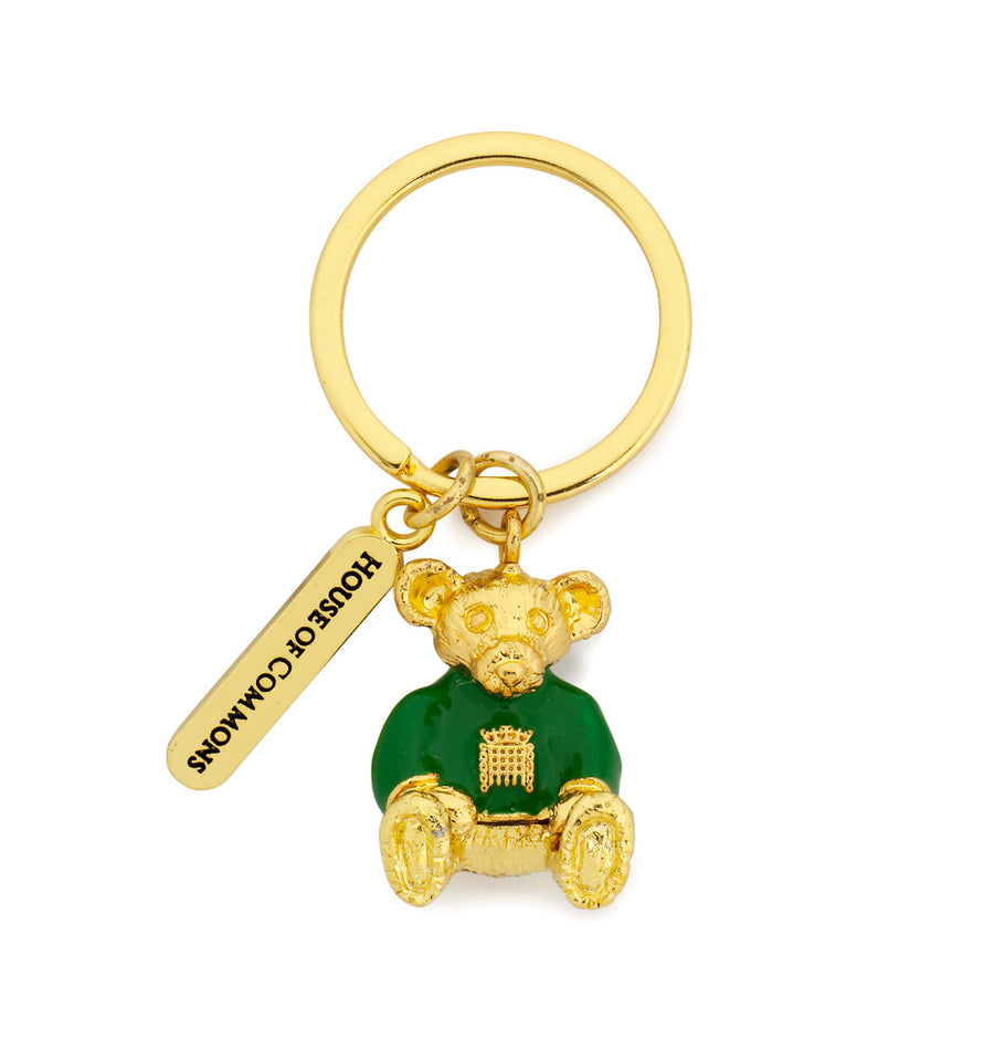 Gold Bear Keyring featured image