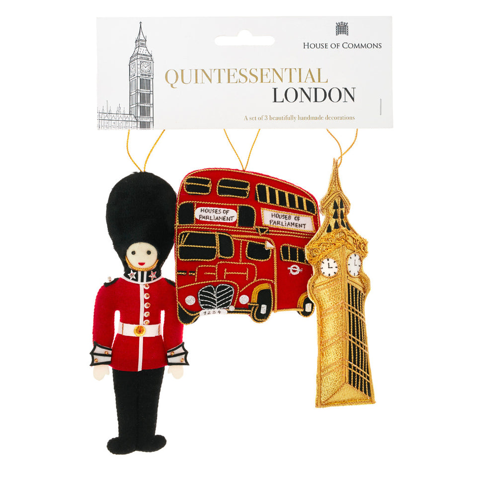 London Tree Ornament Set
