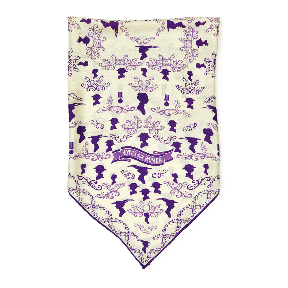 Votes for Women Silk Scarf