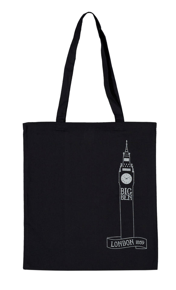 Cotton Big Ben Tote Bag featured image
