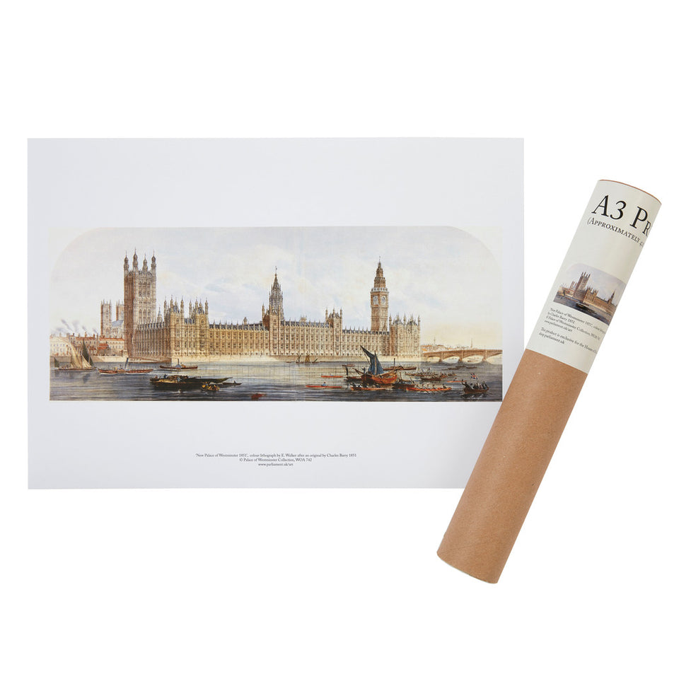 New Houses of Parliament A3 Print featured image