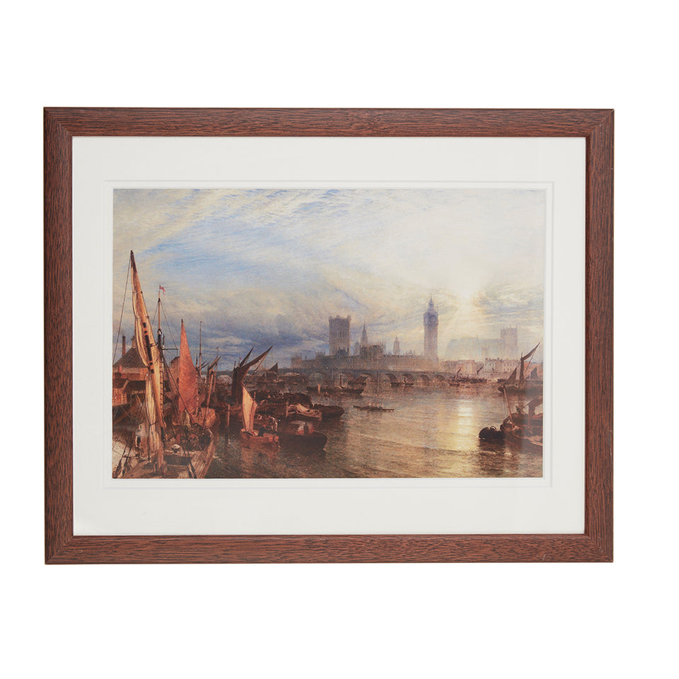 The New Palace of Westminster Framed Print