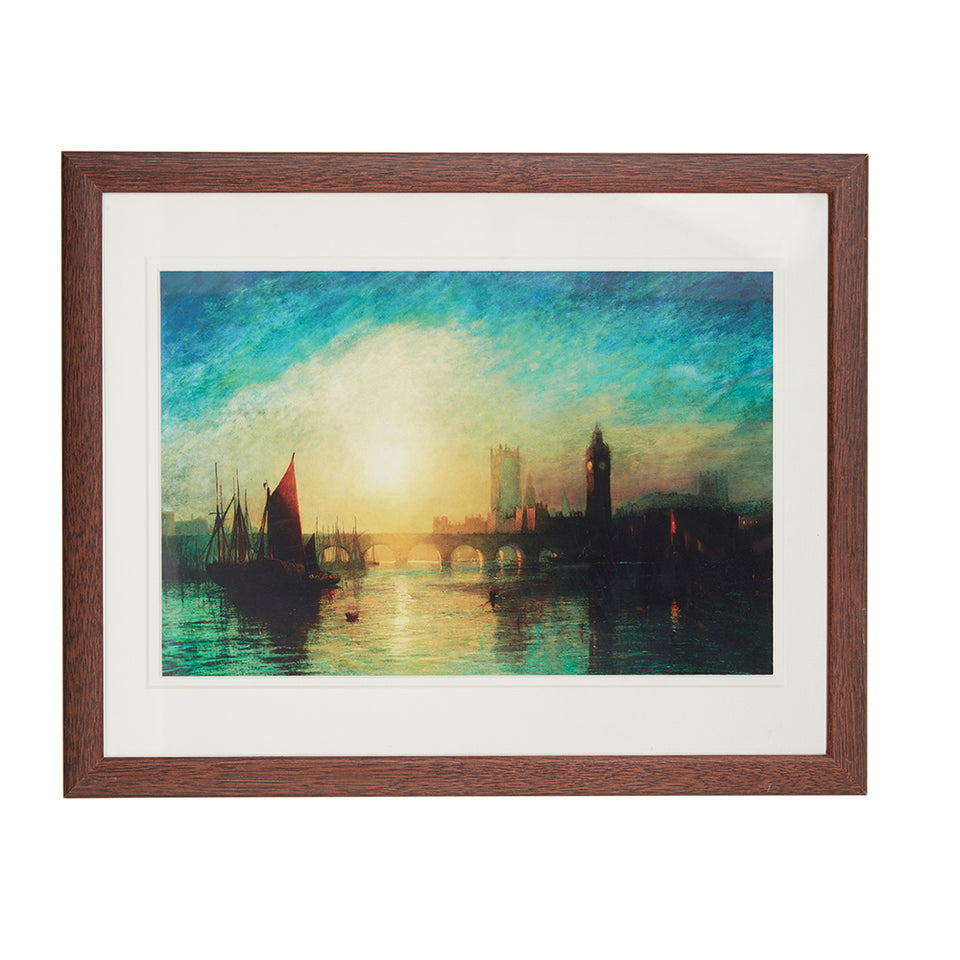View of Westminster Bridge Framed Print