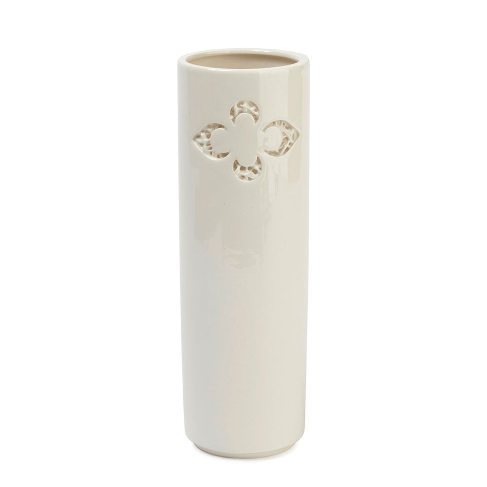 Ceramic Fleur-de-lys Vase featured image