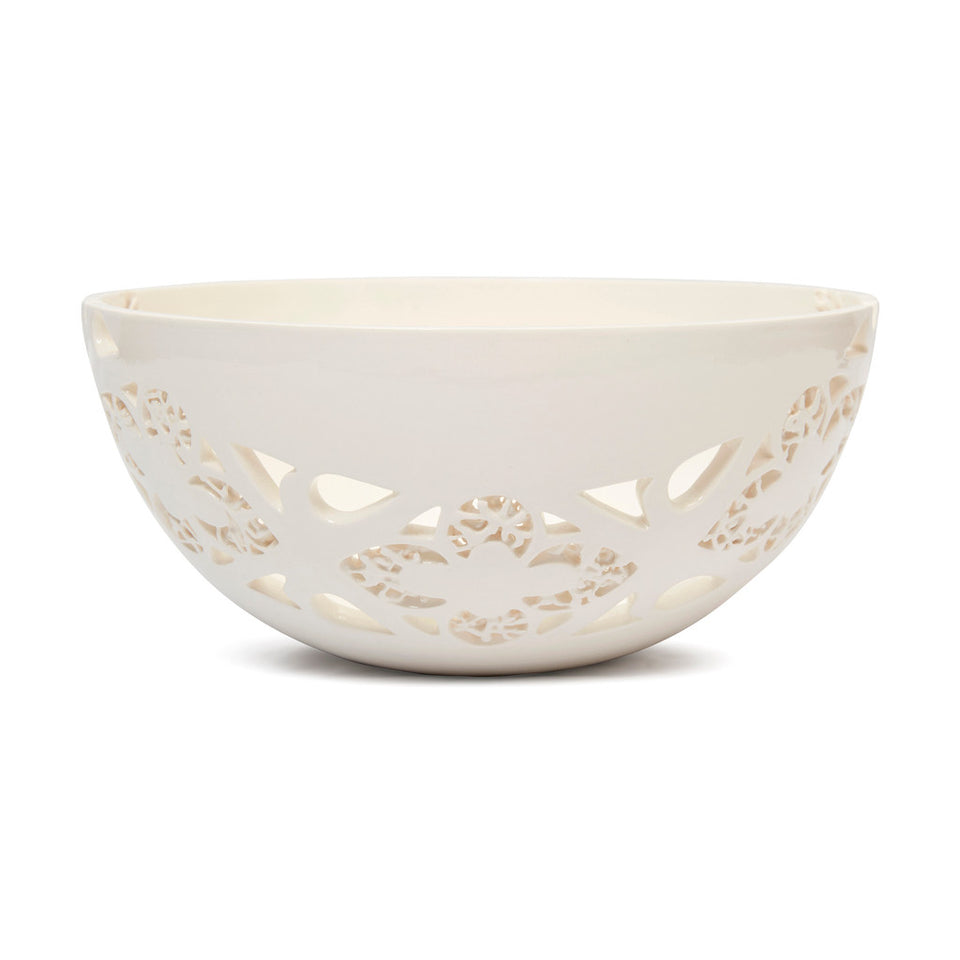 Ceramic Fleur-de-lys Fruit Bowl featured image