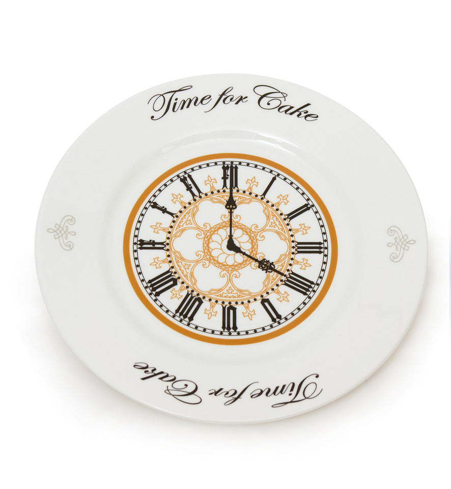 Fine Bone China Clock Face Dessert Plate featured image