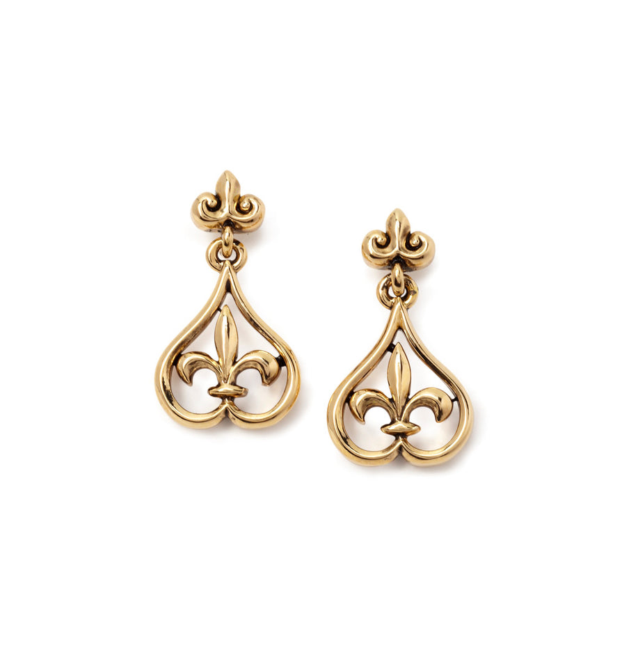 18k Gold Plated Peardrop Earrings
