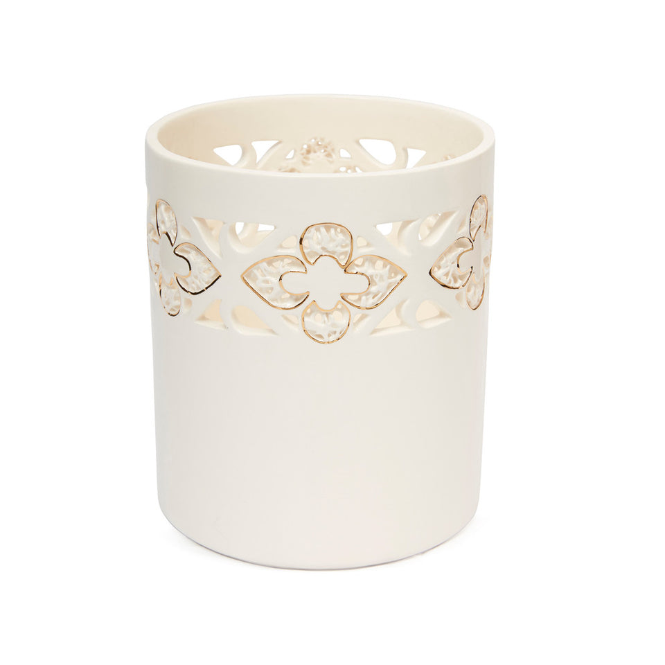 Ceramic Fleur-de-lys Tub Vase featured image