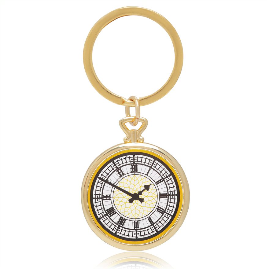 Big Ben Face Keyring featured image