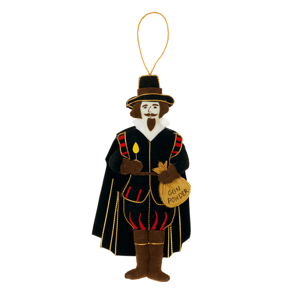 Guy Fawkes Tree Ornament featured image