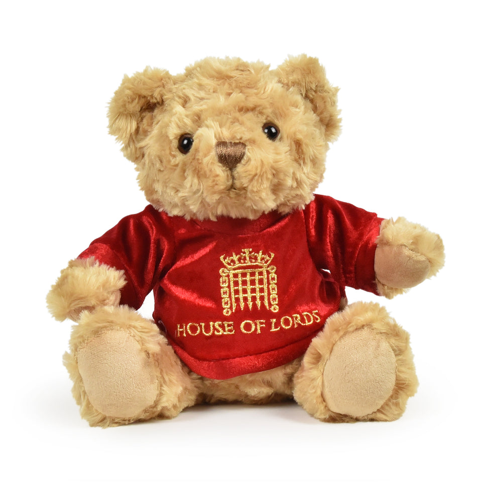 Large House of Lords Bertie Bear featured image