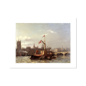 The Arrival of Cleopatra's Needle Fine Art Print
