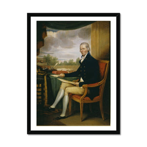 William Pitt, by Henry Edridge Framed Print