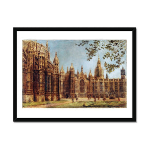 View of Henry VII Chapel and Old Palace Yard Framed Print