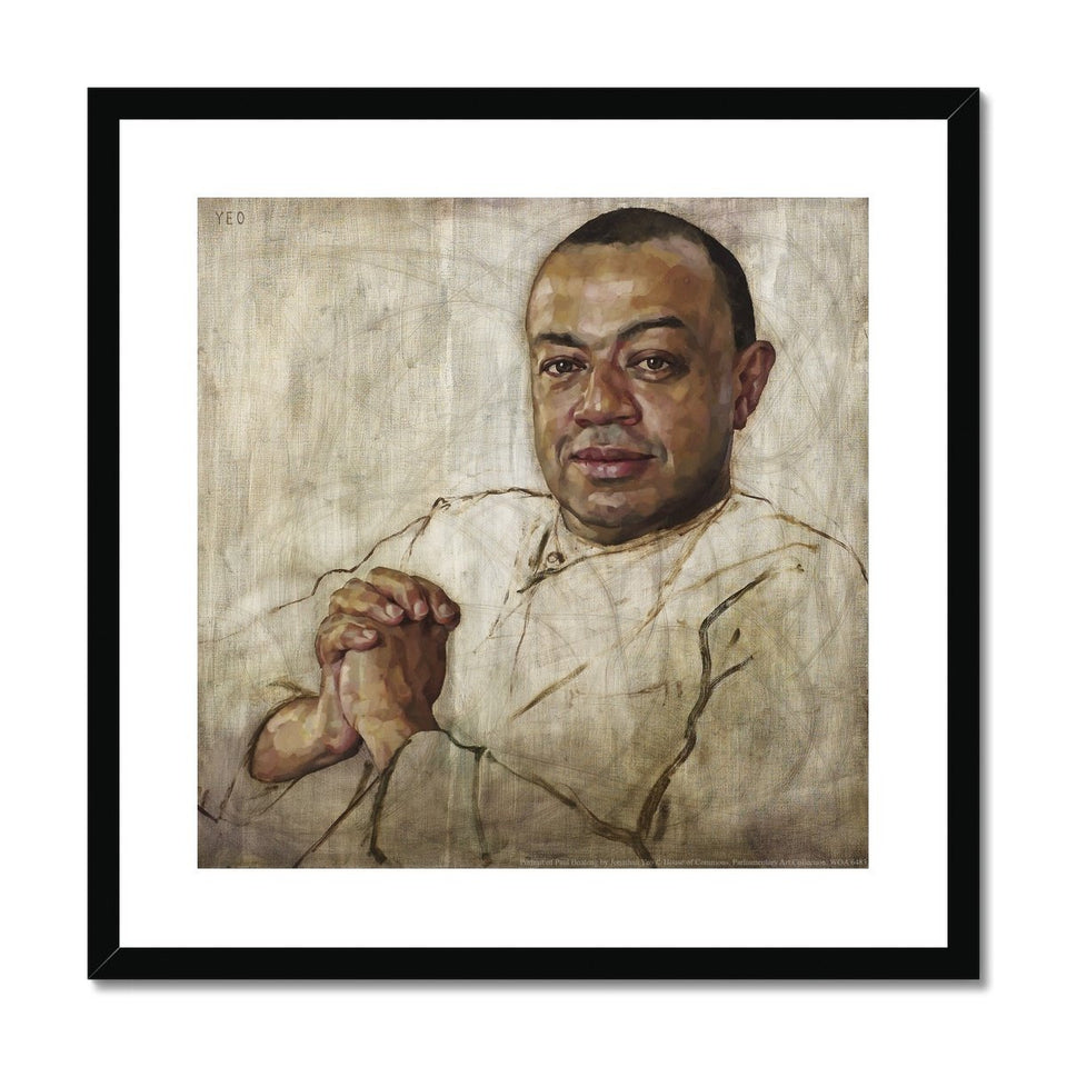 Portrait of Paul Boateng Framed & Mounted Print featured image