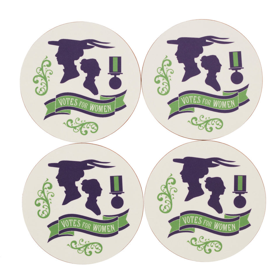 Votes for Women Coaster Set featured image