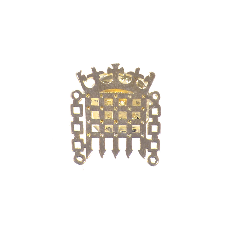 Silver Portcullis Pin featured image