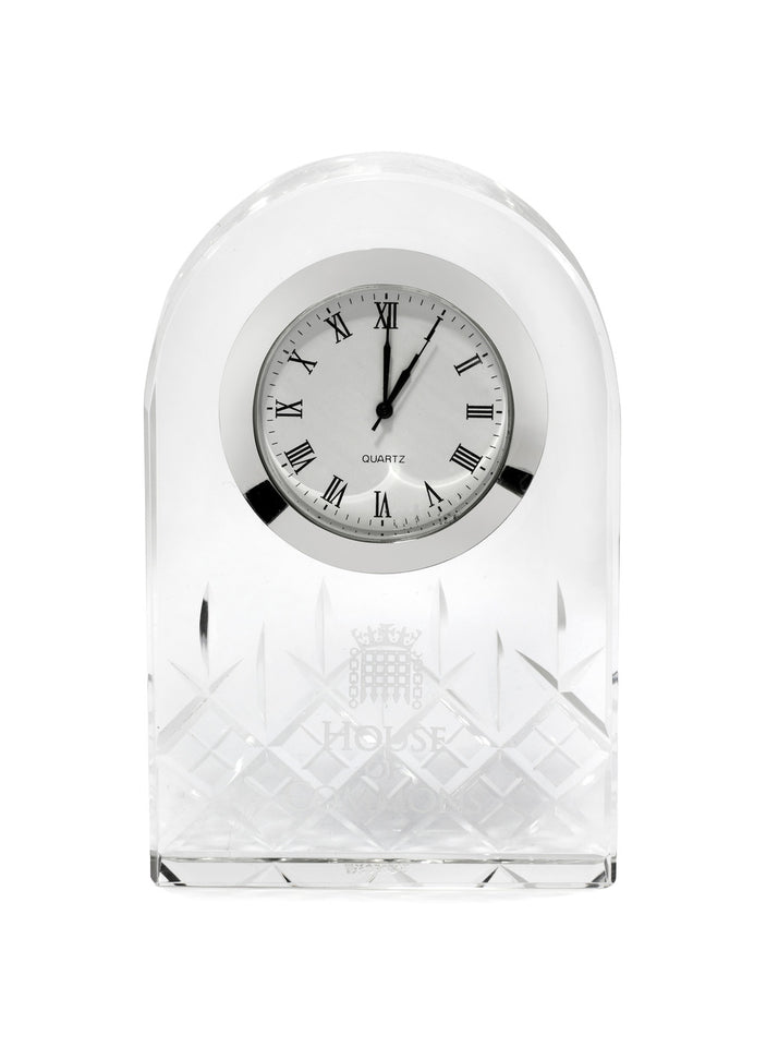 Crystal Standing Clock