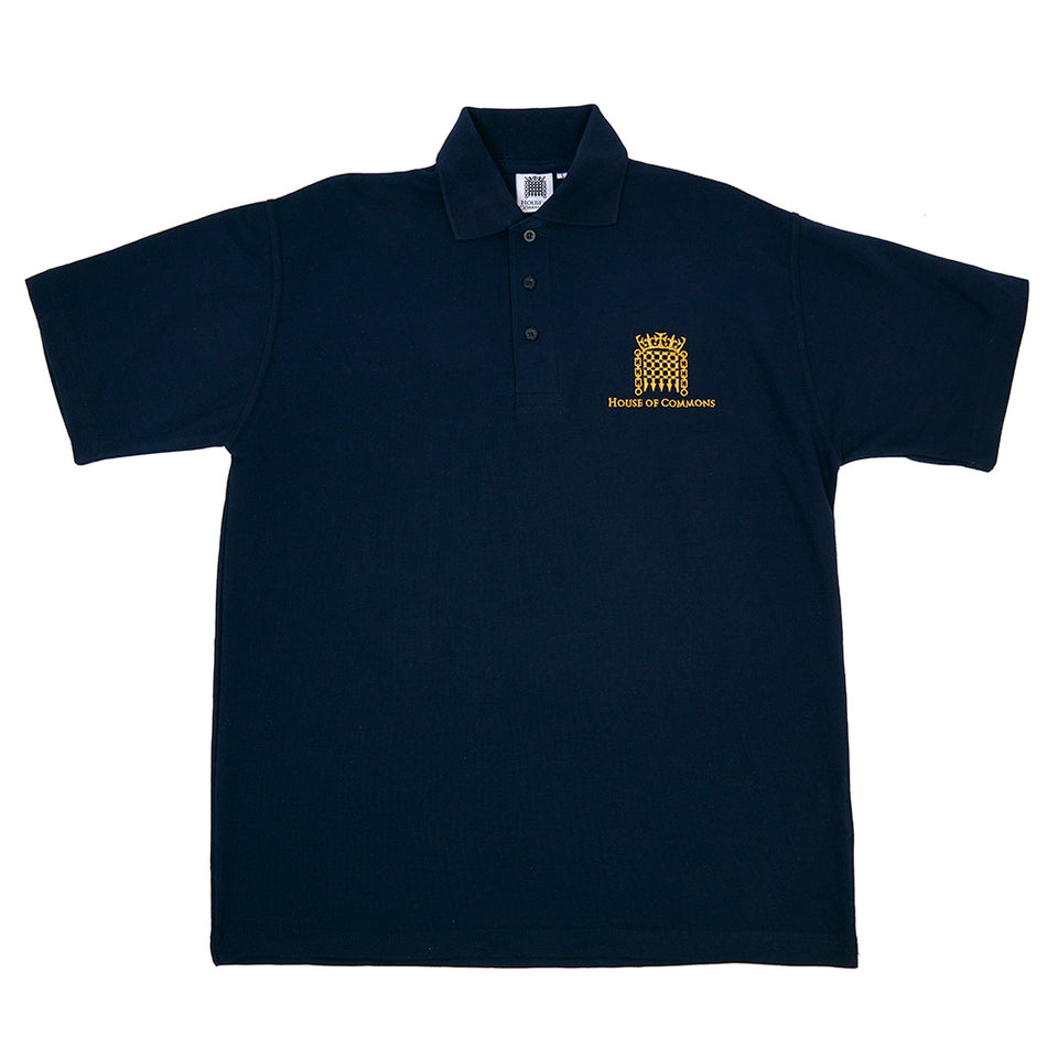 Men's Embroidered Polo Shirt featured image