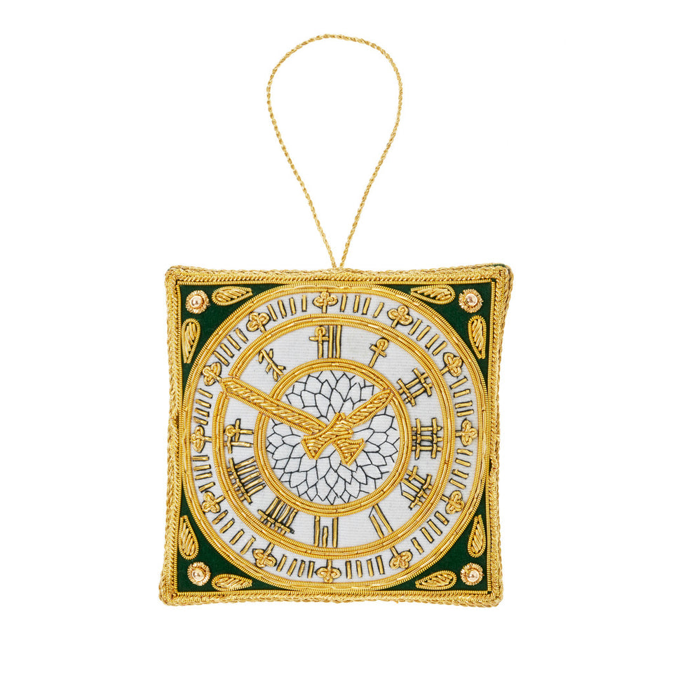 Big Ben Clock Face Tree Ornament featured image