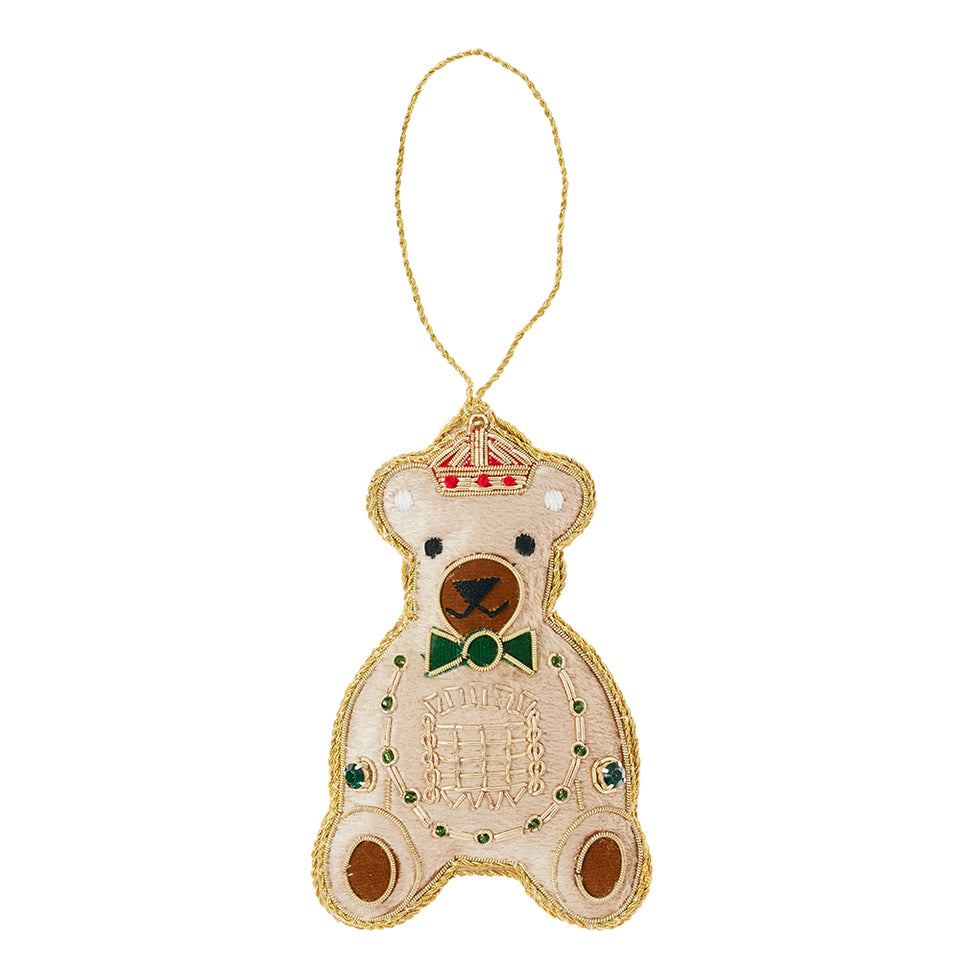 Royal Bear Tree Ornament featured image