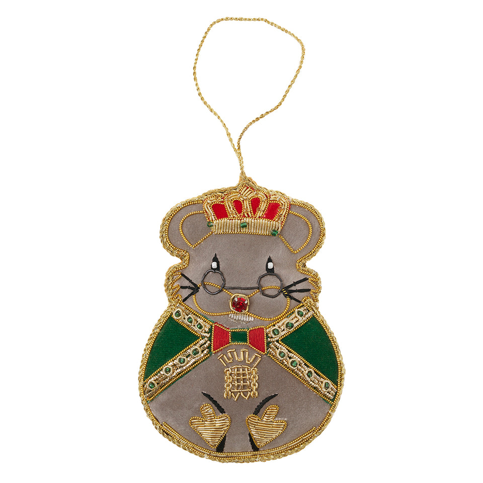 Royal Mouse Tree Ornament featured image