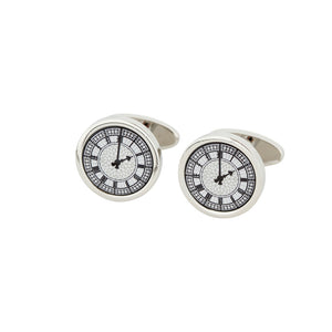 Clock Face Cufflinks