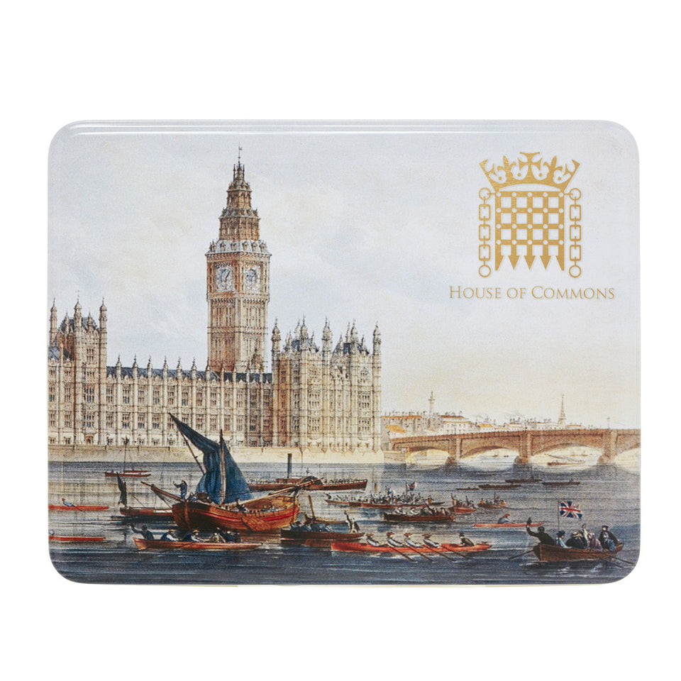 The Palace of Westminster Biscuit Tin