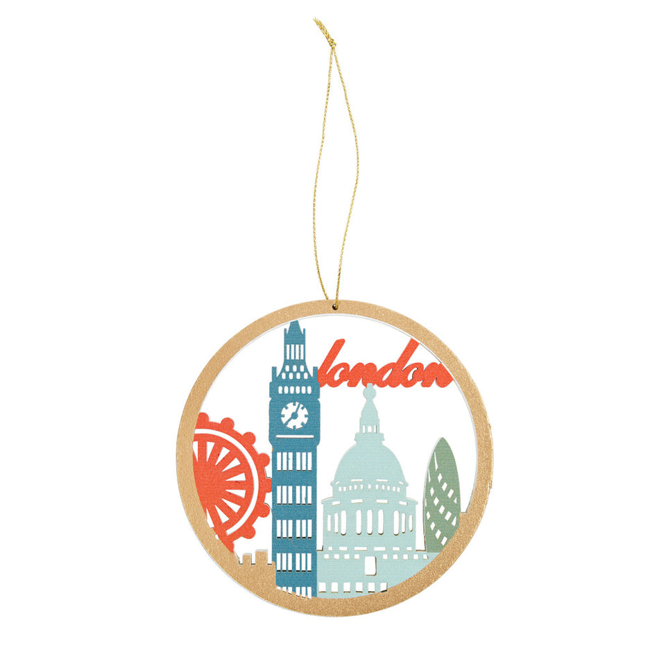 London Landmark Tree Ornament featured image