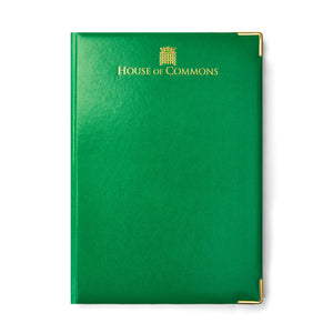 A4 House of Commons Notebook