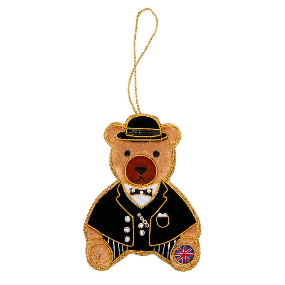 Churchill Bear Tree Ornament featured image