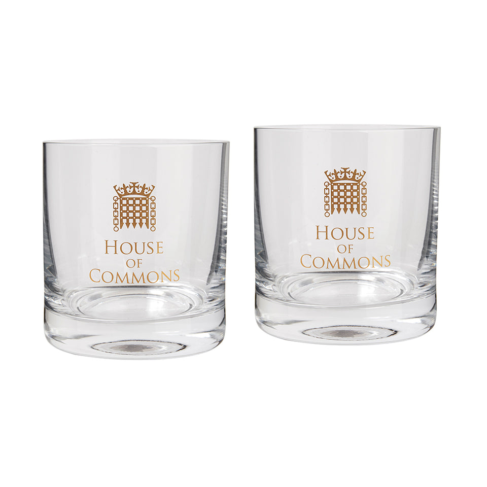 Set of Gold Porcullis Tumblers featured image