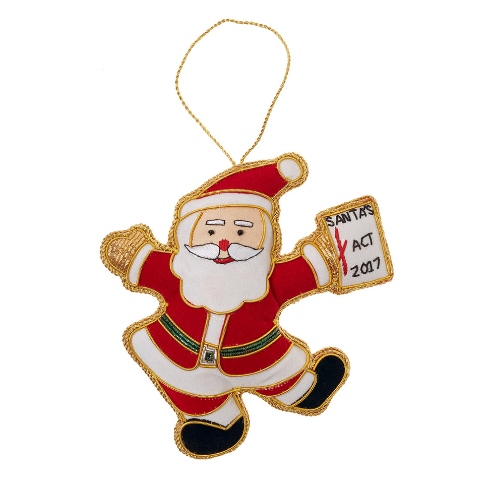 Santa Act Tree Ornament featured image