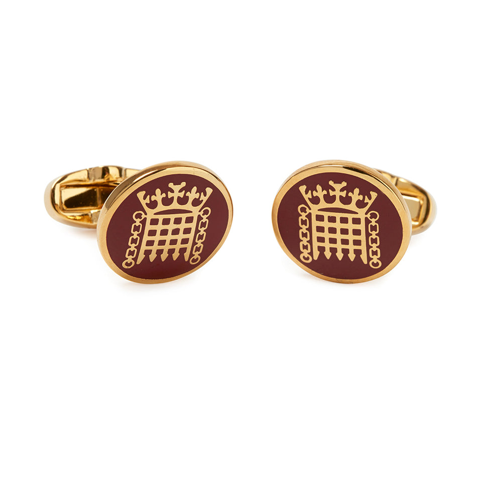 Round House of Lords Cufflinks featured image