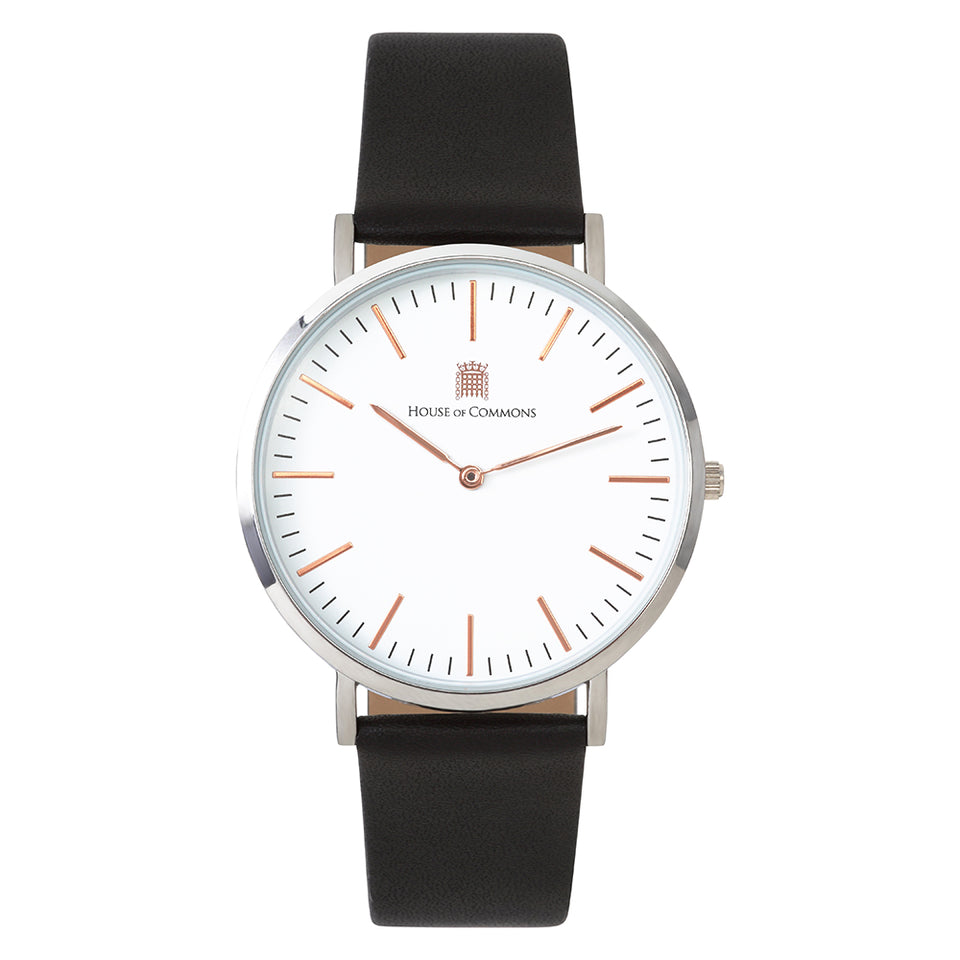 Rose Gold Watch with Black Strap featured image