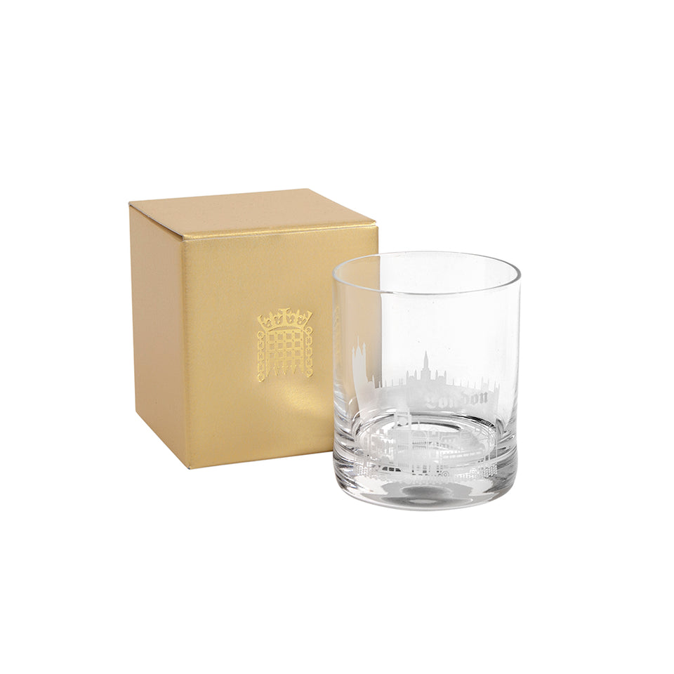London Glass Tumbler