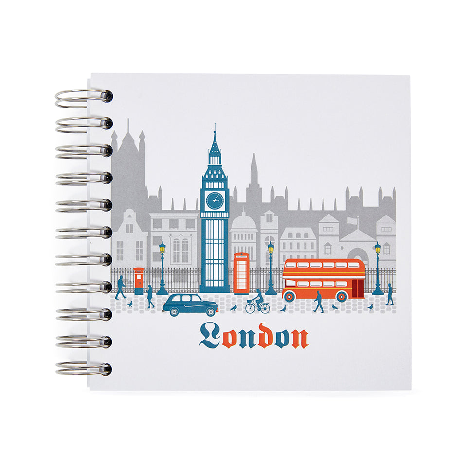 London Ringbound Notebook