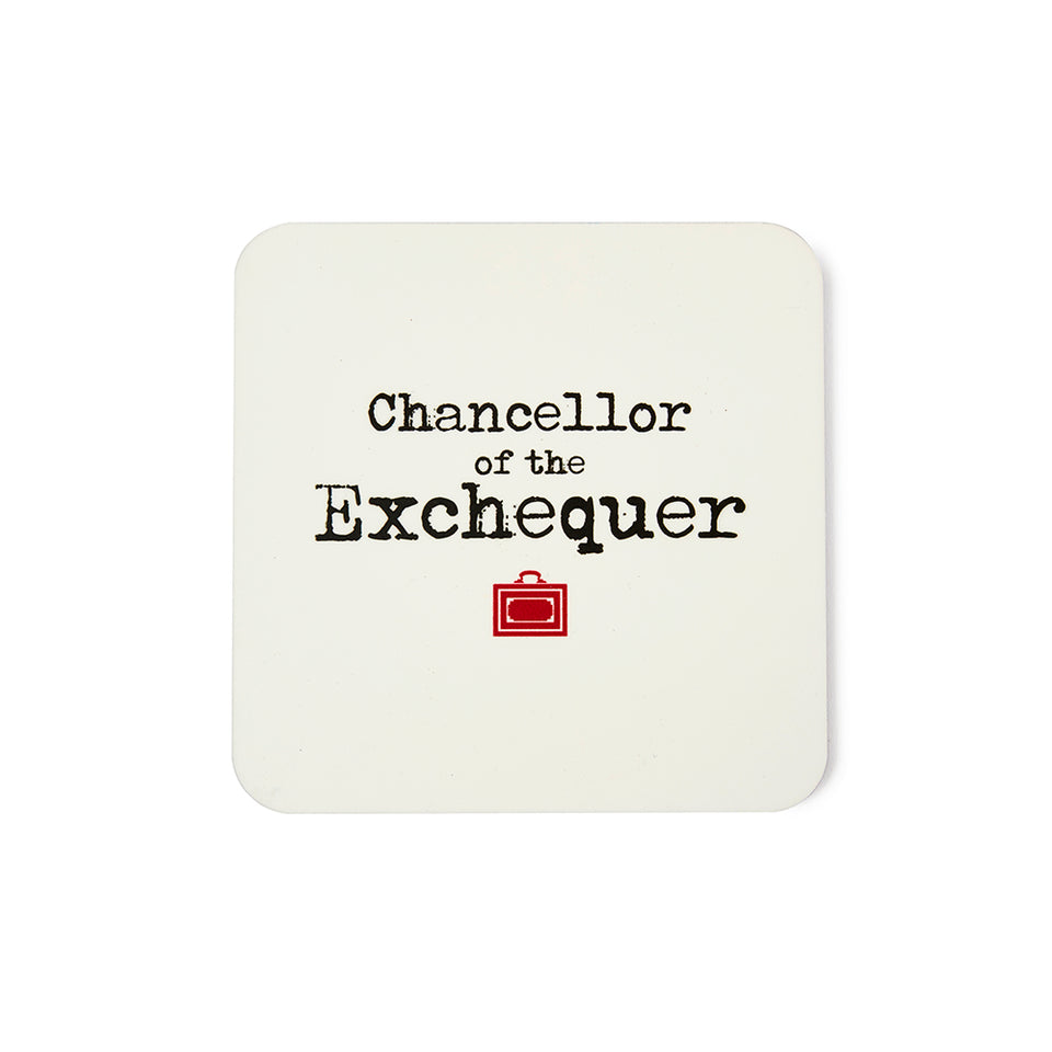 Chancellor of the Exchequer Coaster featured image