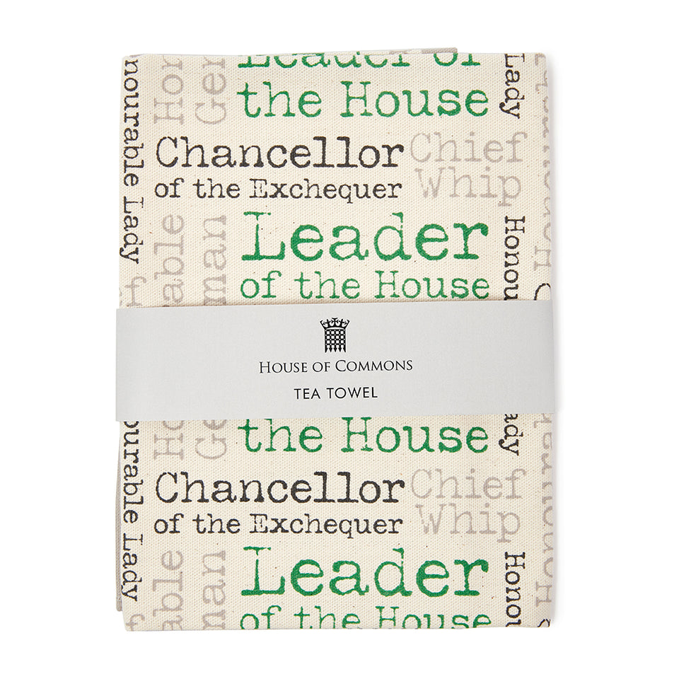 Leader of the House Tea Towel featured image