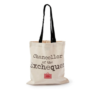 Chancellor of the Exchequer Tote Bag