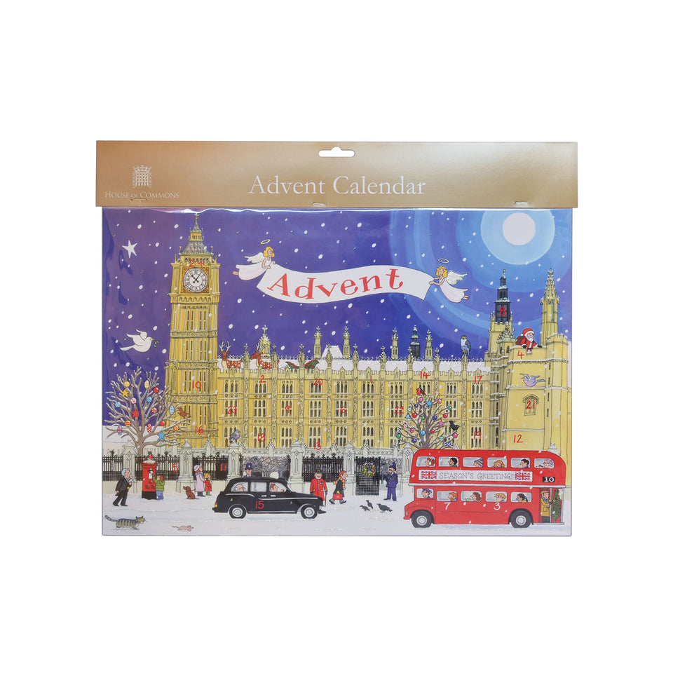 Palace of Westminster Traditional Advent Calendar featured image