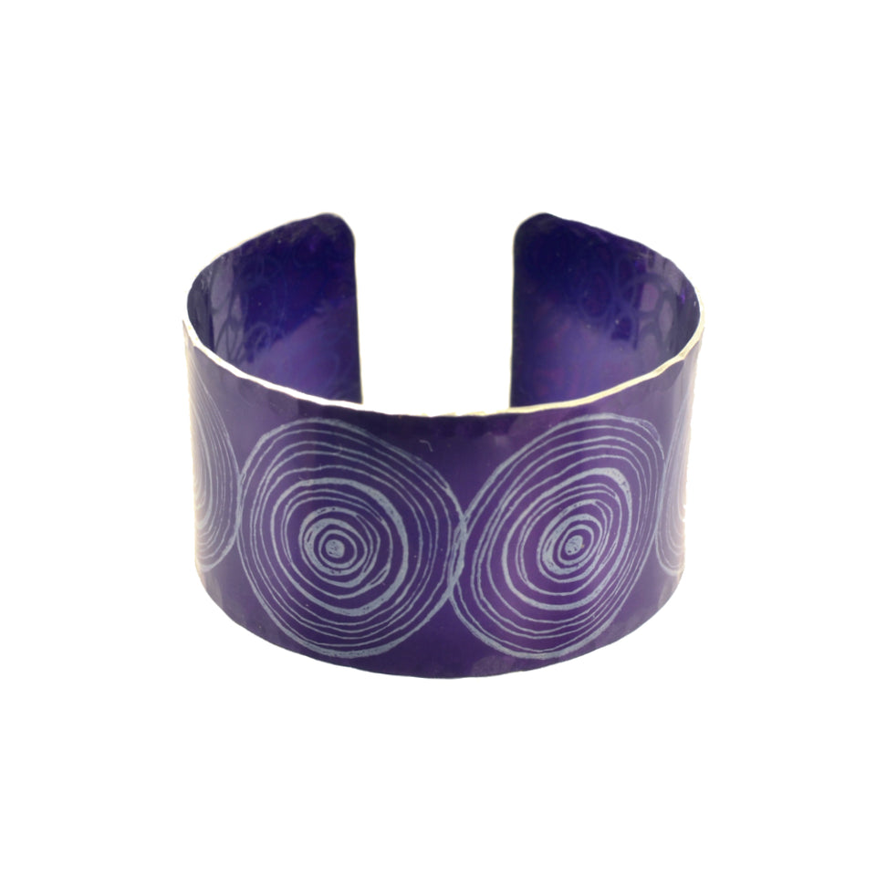 New Dawn Purple Cuff Bracelet featured image